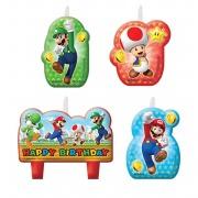 Super Mario Birthday Candles