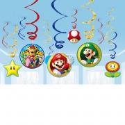 Super Mario Swirl Decorations