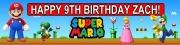 Personalise Super Mario Banner