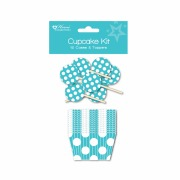 Teal Cupcake Kit