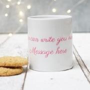 Text Only Mug