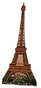 THE EIFFEL TOWER CUT OUT
