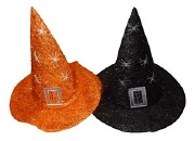 Tinsel Witches Hat
