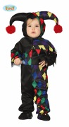 Toddler Harlequin Costume