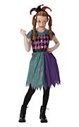 Tween Harlequin Jester Costume