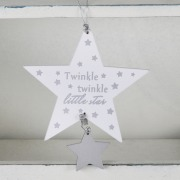 Twinkle Double Star Plaque