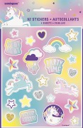 Unicorn Party Stickers