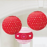 Valentines Lantern Decorations