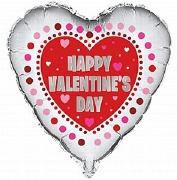 Valentines Heart Foil Balloon