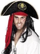 Velour Pirate Hat