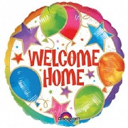 Welcome Home Foil Balloon.