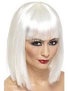 White Glam Wig