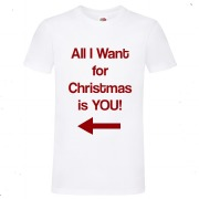 White All I Want T-Shirt