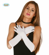 White long Gloves