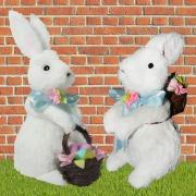 White Mr & Mrs Bunny