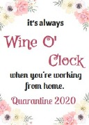 4Pk Wine O Clock Labels