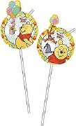 Winnie The Pooh Party Straws