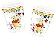 Winnie The Pooh Plastic Cups