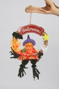 Witches Wreath Decoration