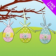 Wooden Egg Decorations