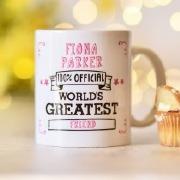 World's Greatest... Pink Mug
