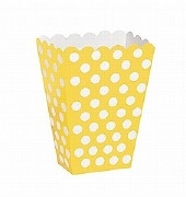 Yellow Dots Treat Boxes