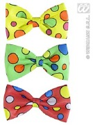 Yellow Dotted Bow Tie