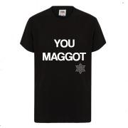 You Maggot Christmas T-Shirt