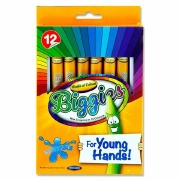 12Pk Young Hands Big Crayons