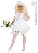 Plus Size Zombie Bride Costume