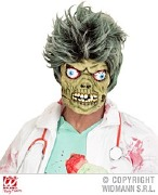 Zombie Half Face Mask