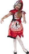Zombie Miss Hood Costume