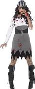 Zombie Pirate Lady Costume