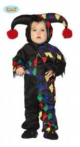 Toddler Harlequin Costume