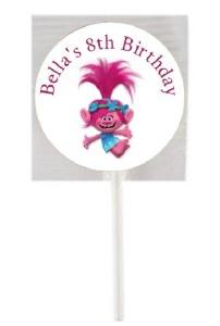 15PK Trolls Lollipops