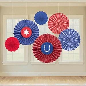 Wild West Fan Decorations