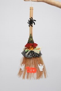 Witches Broom Decoration