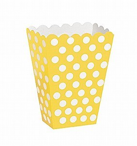 Yellow Dots Treat Boxes