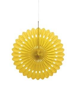 Yellow Paper Fan