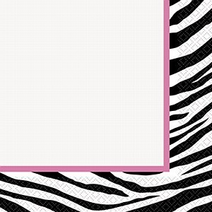 Zebra Napkins