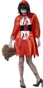 Zombie Ms Hood Costume