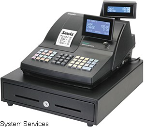 Sam4s NR-510R Cash Register