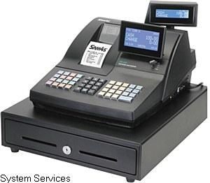 Sam4s NR-520R Cash Register