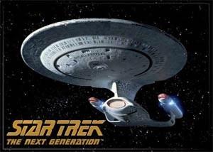 Star Trek Next Generation Enterprise Magnet