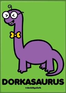 Dorkasaurus Magnet