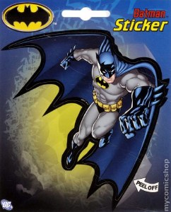 Batman Grey Blue Sticker
