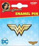 DC Wonder Woman Logo Enamel Pin