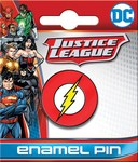 DC The Flash Logo Enamel Pin