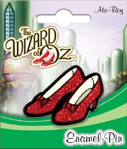 Wizard of Oz Ruby Slippers Pin
