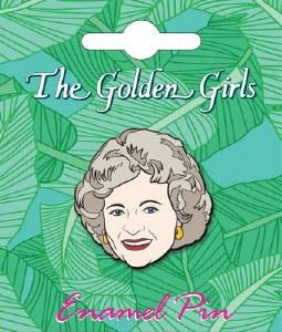 Golden Girls Rose Enamel Pin
